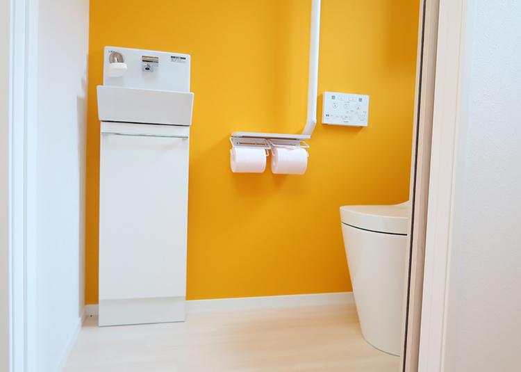 トイレの壁紙張替イメージ